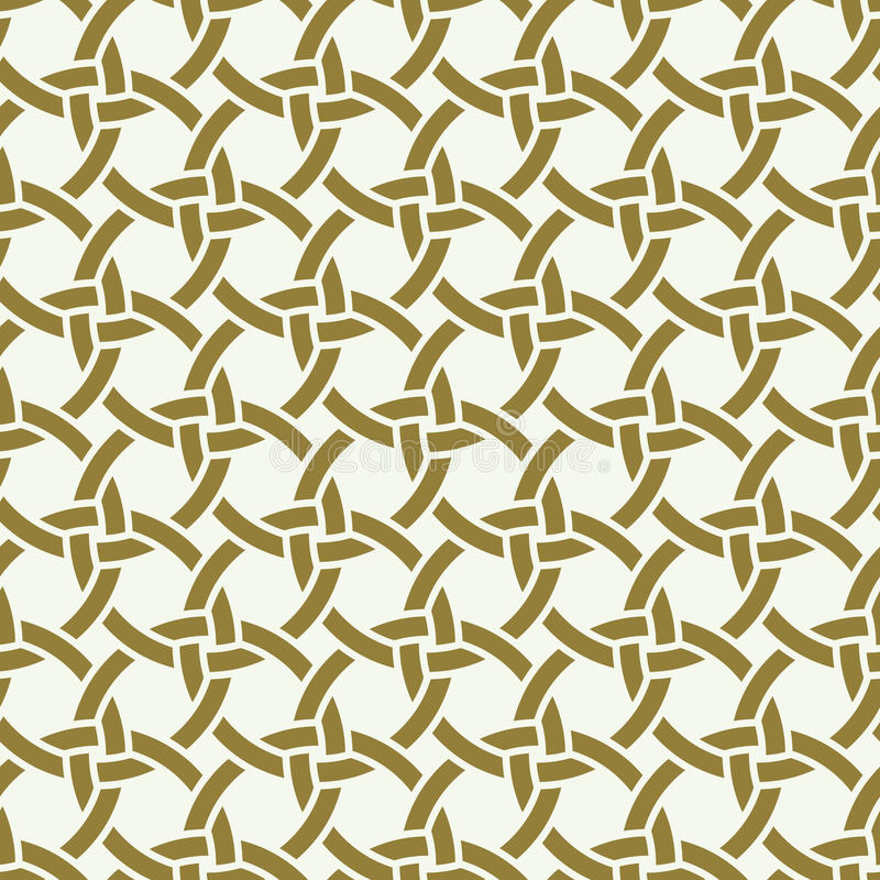 Vector seamless pattern, graphic geometric royalty free illustration