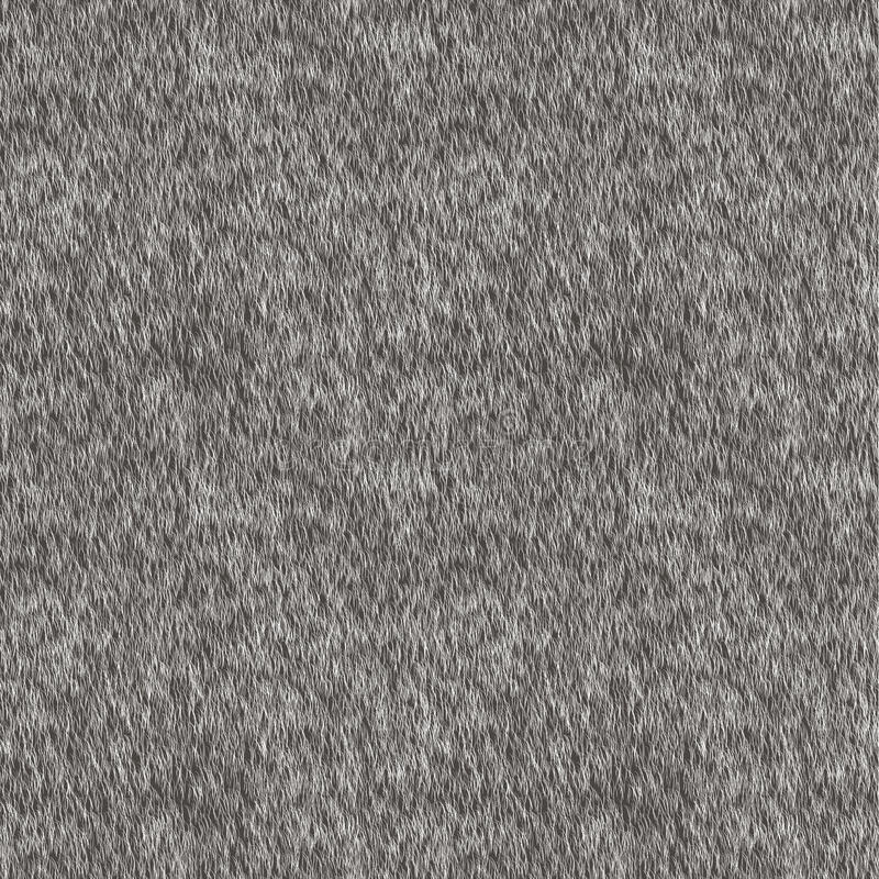 Free Vector Seamless Pattern. Gray Fur Background. Royalty Free Stock Photos - 69879128