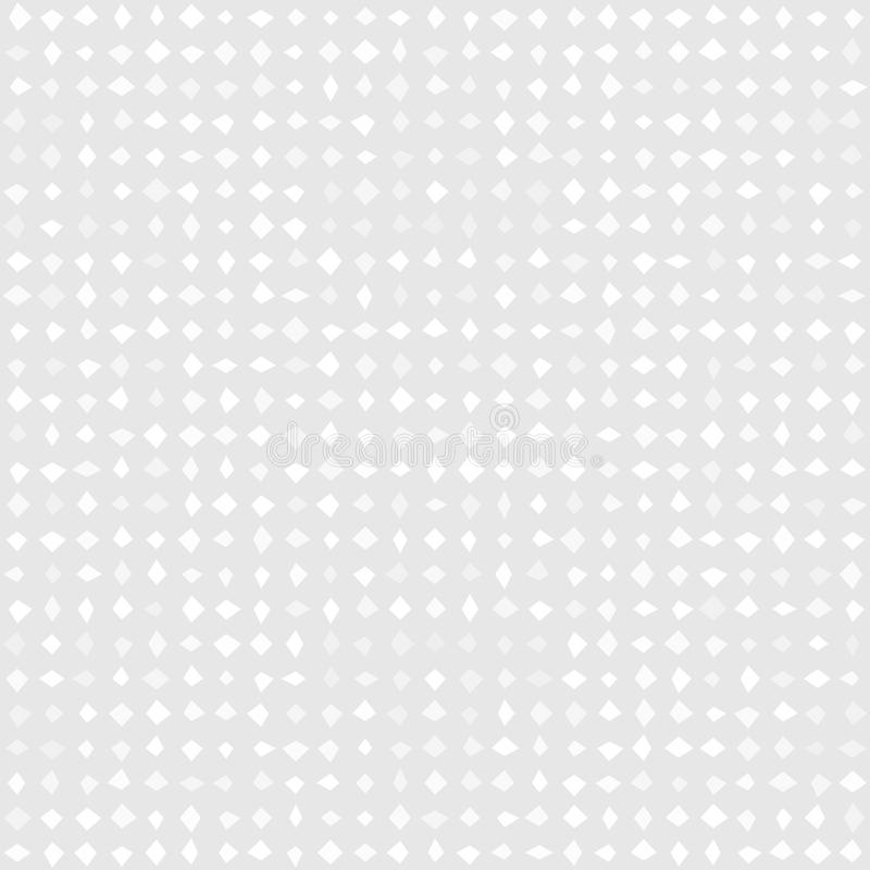 Vector seamless pattern with grey-silver shapes stock illustration