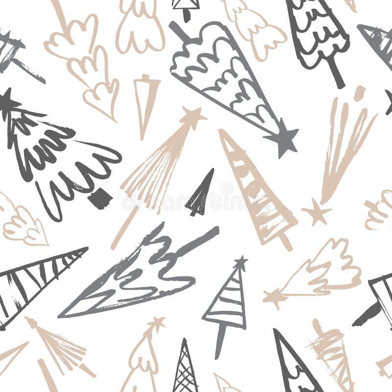 Christmas vector seamless pattern vector illustration