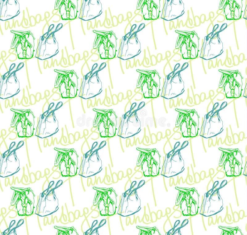 Download Vector Seamless Pattern Of Handbags Stock Vector - Image: 24313632