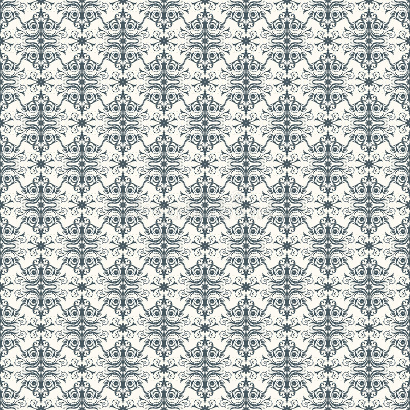 Download Vector seamless pattern stock vector. Image of arabesque - 33950790