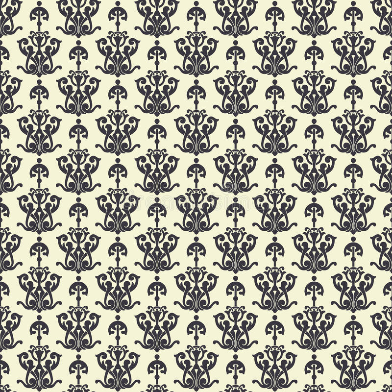 Download Vector seamless pattern stock vector. Image of line, retro - 34607827