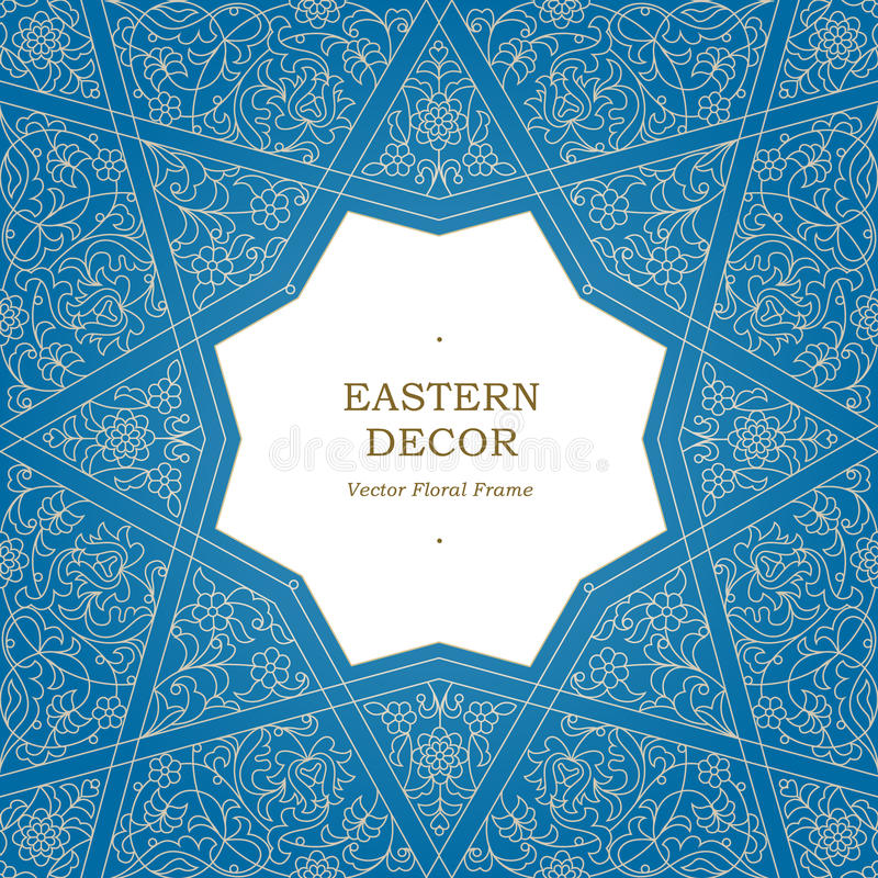 Free Vector Seamless Pattern In Eastern Style. Stock Photo - 73445970