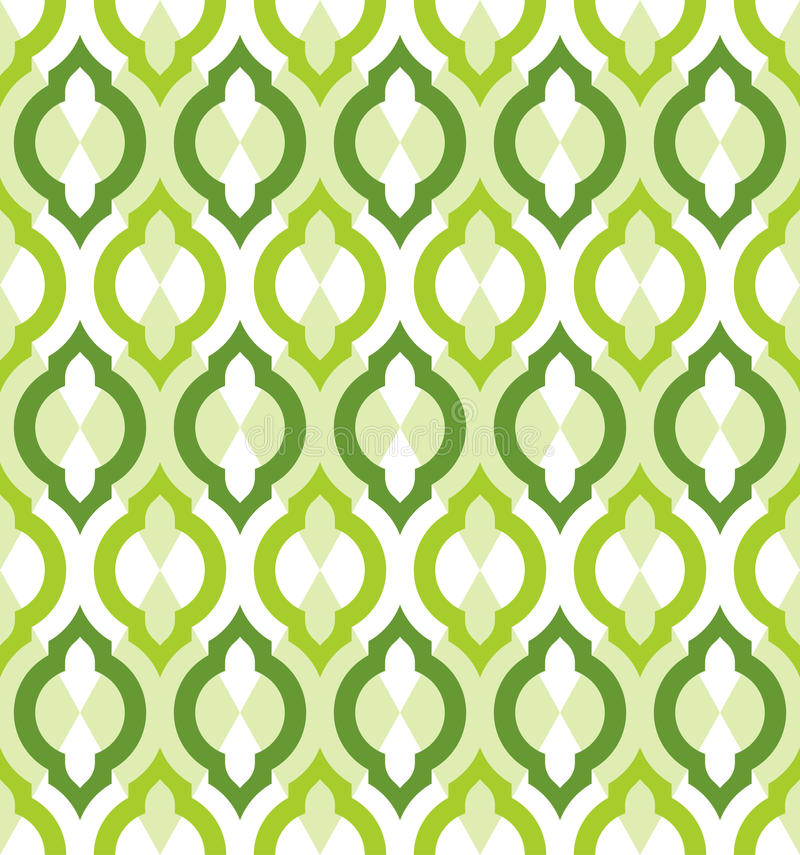 Vector seamless pattern. Moroccan style. stock illustration