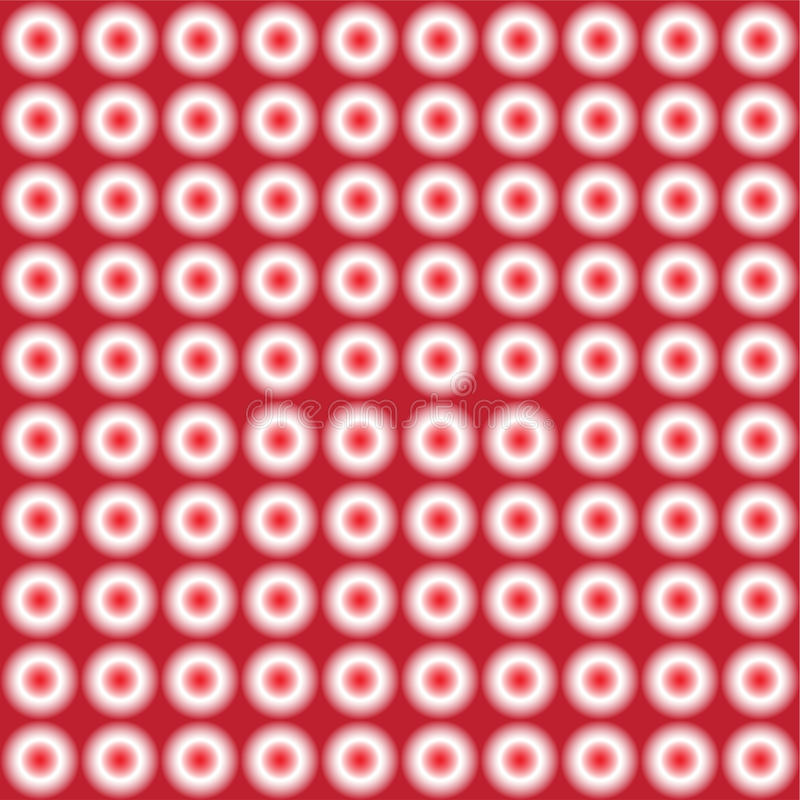 Vector seamless pattern of red disco lights. vector illustration