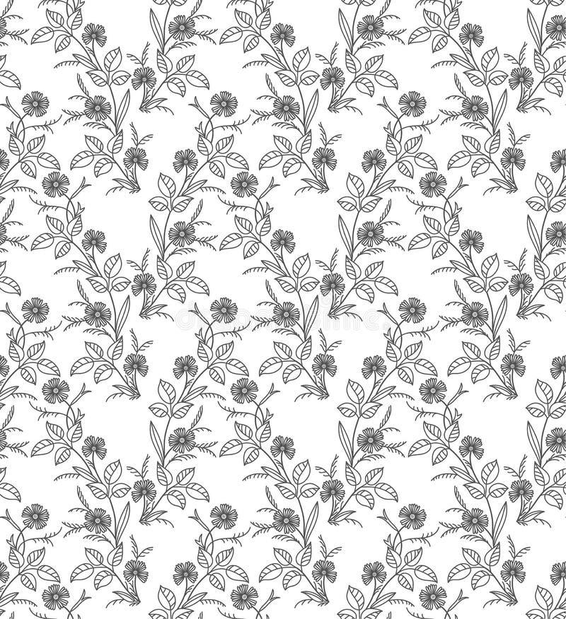 Vector seamless pattern stock illustration
