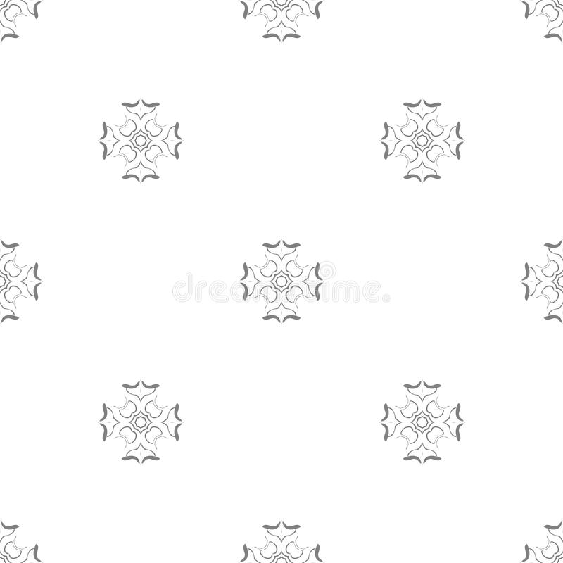 Vector seamless pattern. royalty free stock photo