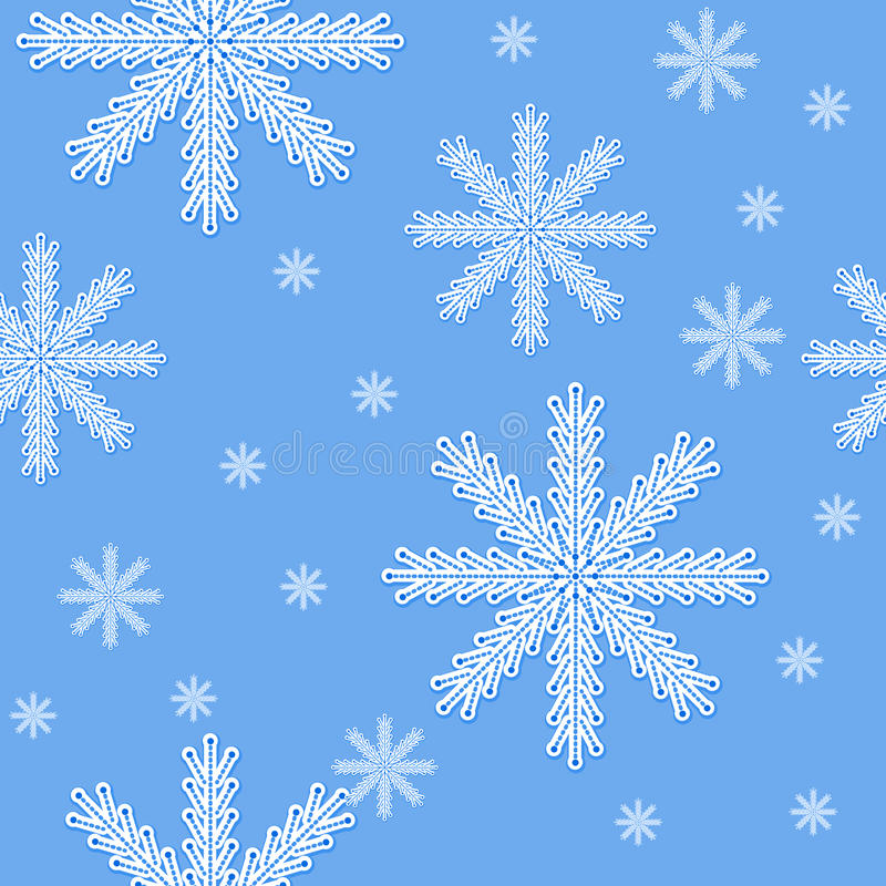 Download Snow stock vector. Image of repetition, repeat, pattern - 29702431