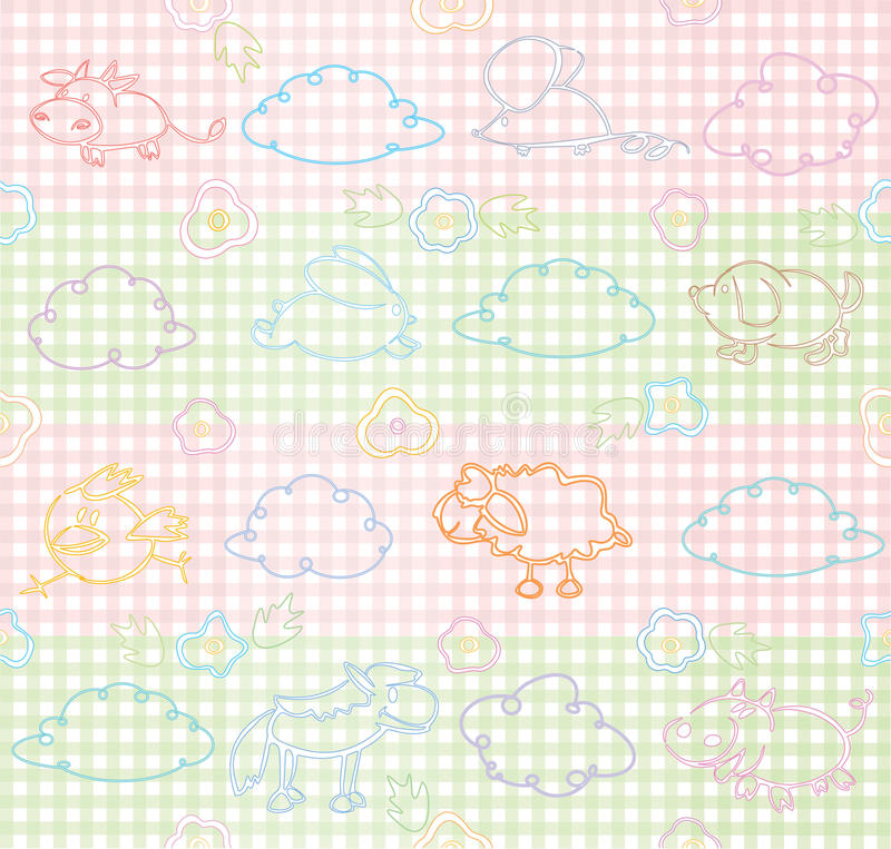 Download Vector Seamless Pattern For Your Design. Stock Vector - Image: 12551423