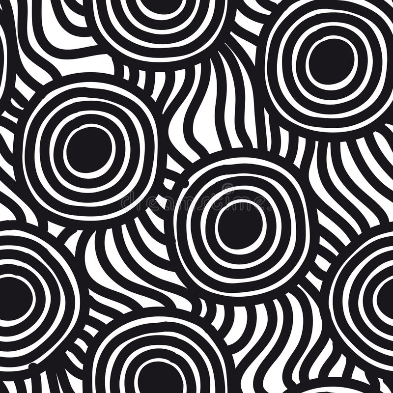 Vector seamless simple pattern. Repeating abstract. Vector seamless simple pattern. Modern stylish texture. Repeating abstract background royalty free illustration