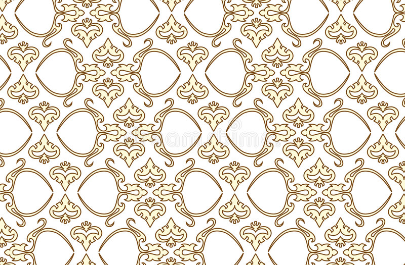 Vector seamless wallpaper 6 royalty free illustration
