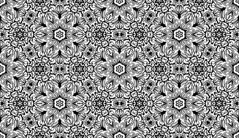 Download Vector Seamless Wallpaper Pattern Stock