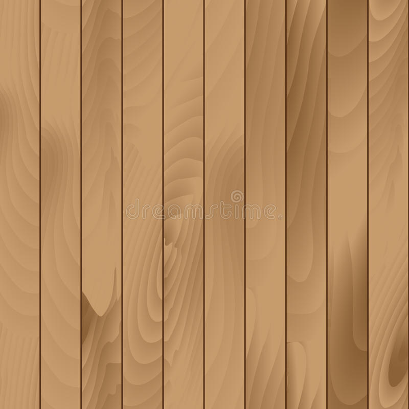 Vector Seamless Wood Plank Texture Background royalty free illustration