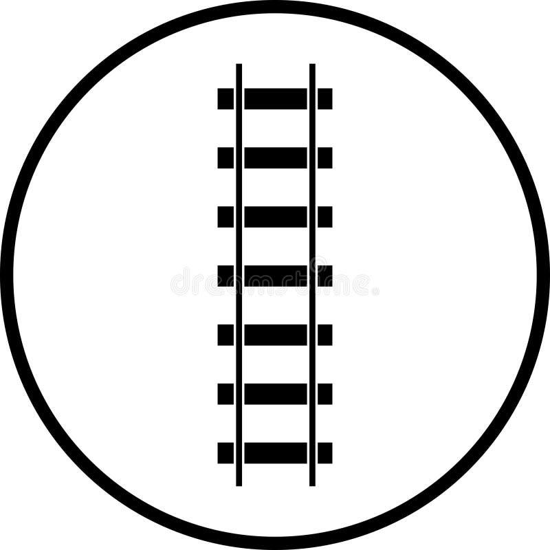Vector Serieneisenbahnsymbol vektor abbildung
