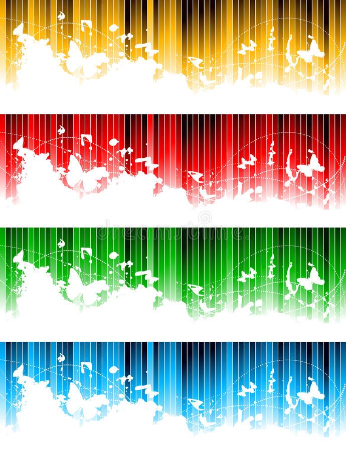Download Vector Set Of Colorful Banners Stock Vector - Illustration of copy, beauty: 12985576