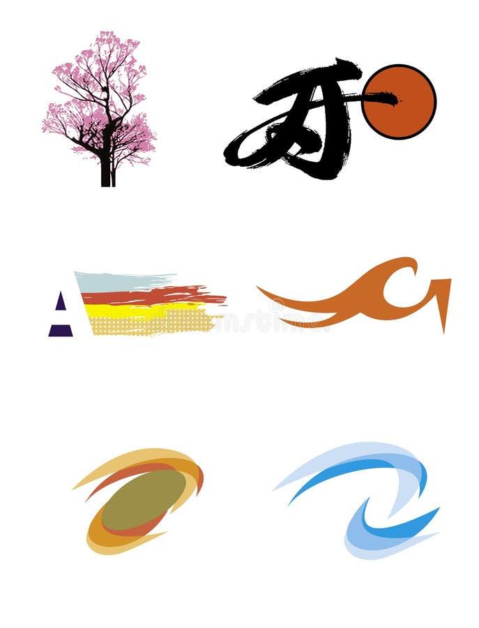 Vector Set For Creation Of Logos 2 Royalty Free Stock Photos