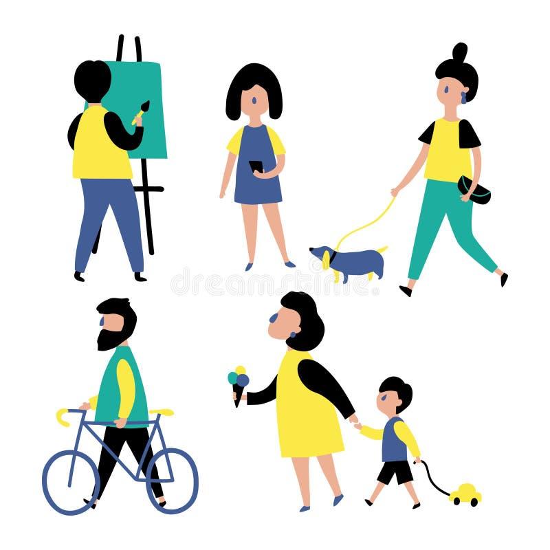 People stock illustration