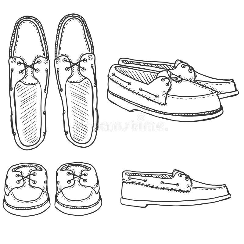 Men Retro Black White Leather Dress Shoes Stock