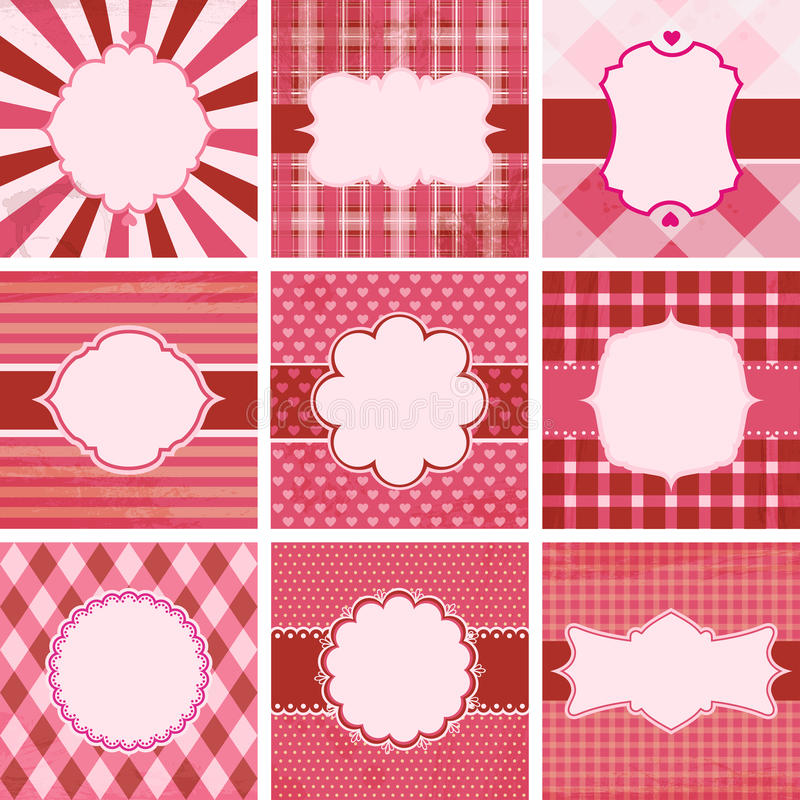 Download Vector Set Of Valentine's Day. Stock Vector - Image: 23121599