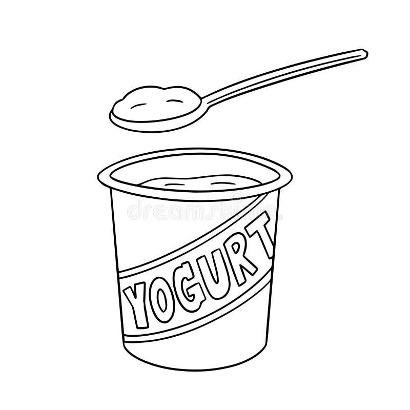 йогурт рисунки карандашом кто-то собрался уже