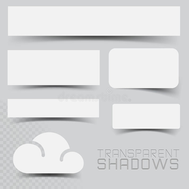 Free Vector Shadow Effects Royalty Free Stock Photo - 27761695