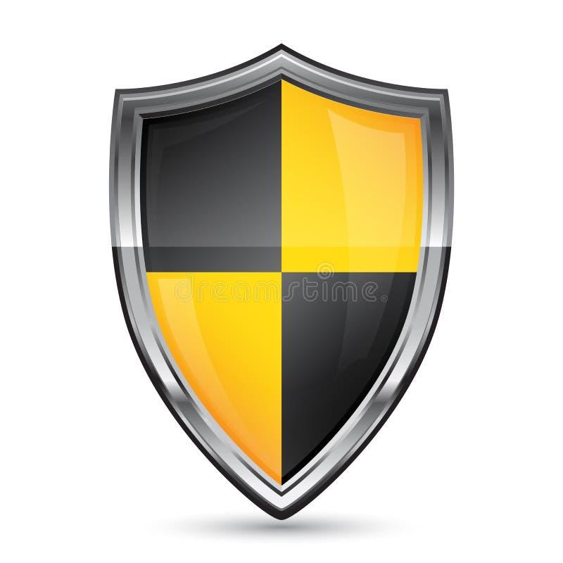 Vector shield icon vector illustration