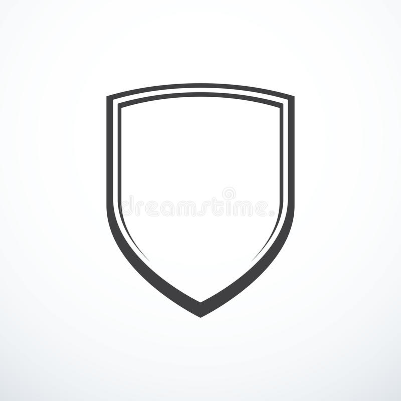 Vector shield icon. Shield icon. Vector illustration eps 10 vector illustration
