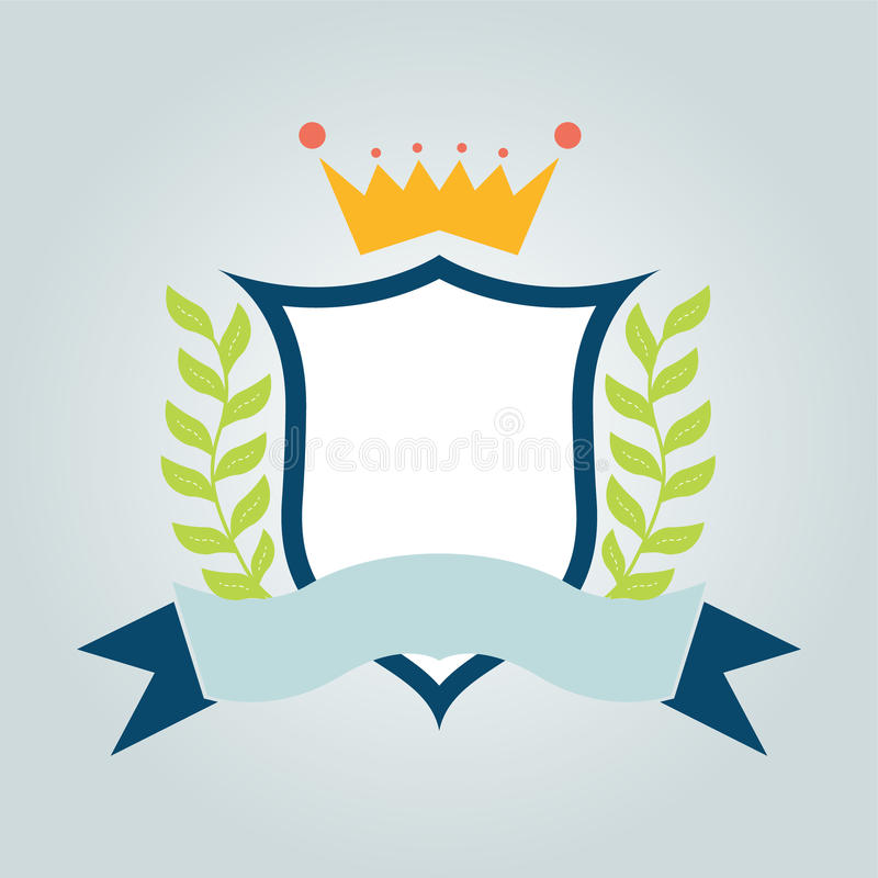 Download Vector Shield With Ribbon Stock Photo - Image: 37424610