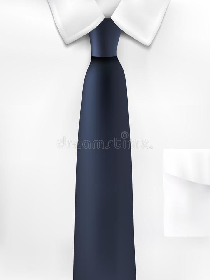 Free Vector Shirt And Tie Illustration Stock Photography - 16001022