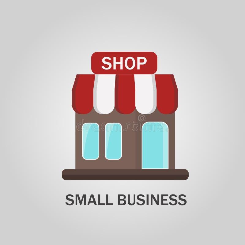 Vector Shop, Illustratie, Pictogram, Achtergrond vector illustratie