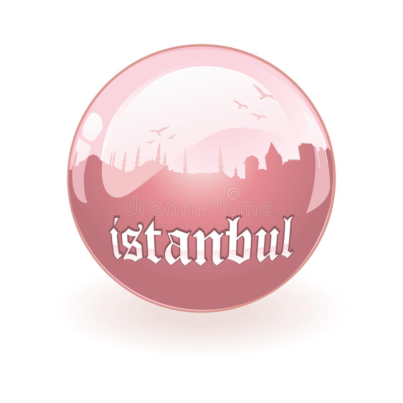 Download Vector Silhouette Of Istanbul Stock Vector - Image: 9877680