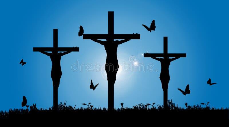 Vector Silhouette Of Jesus Stock Vector Image 50237722
