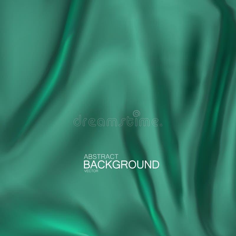 Vector silk fabric. vector illustration
