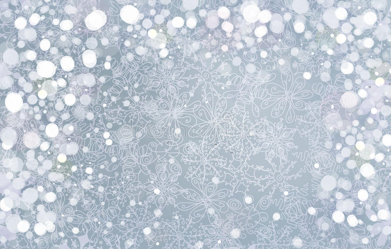 Vector silver background for Christmas design. vector illustration