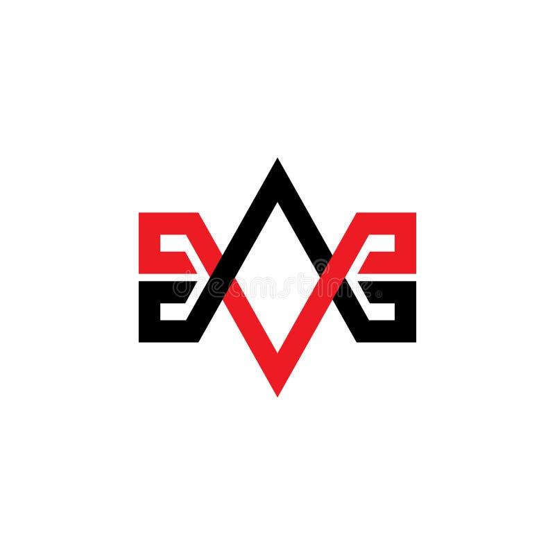 Vector simple tenido gusto del logotipo de la flecha ilustración del vector