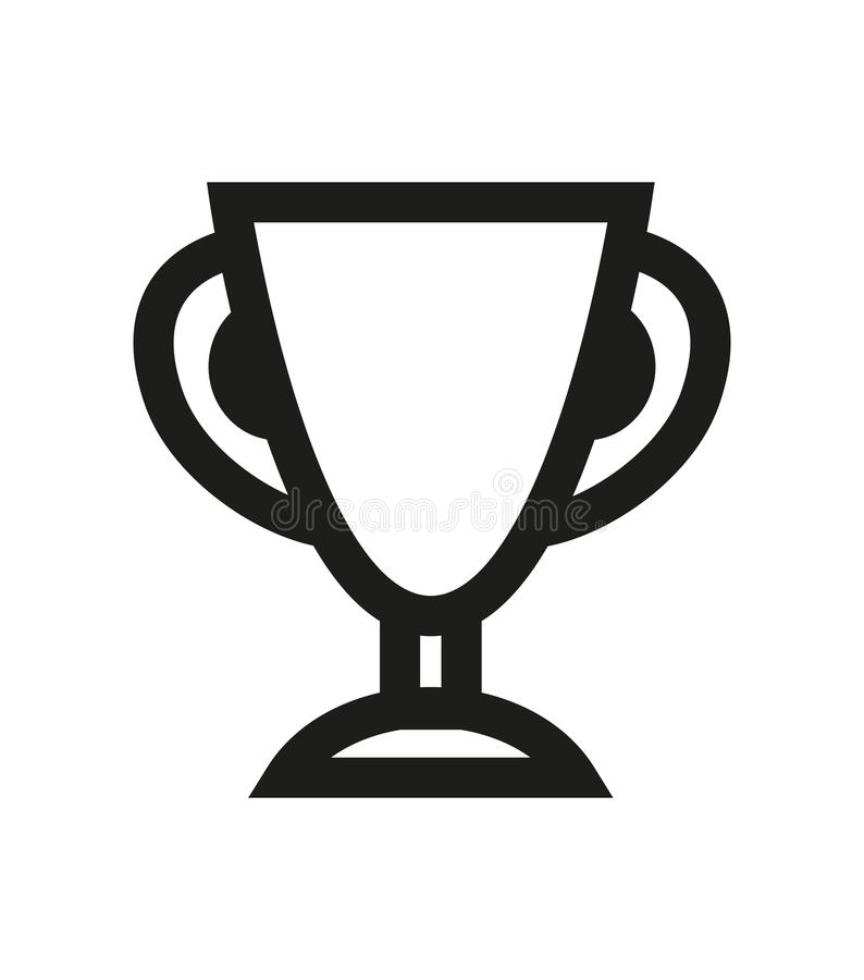 Download Vector Simple Trophy Cup Icon Stock