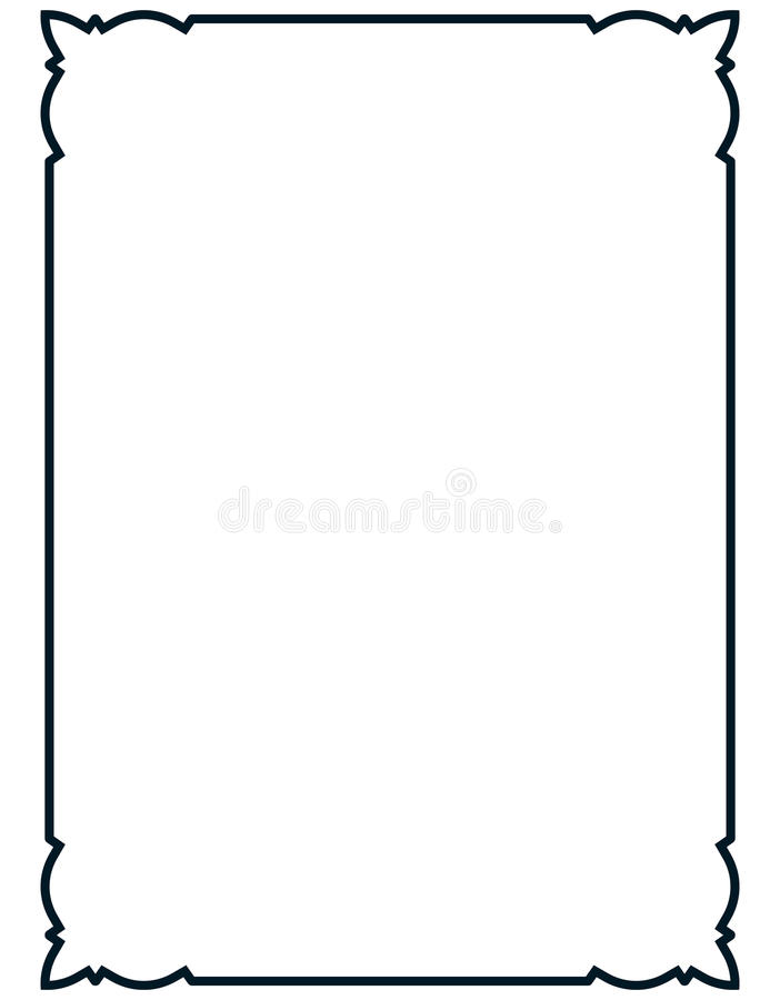 Free Vector Simple Vintage Picture Frame Isolated Stock Photography - 57913602