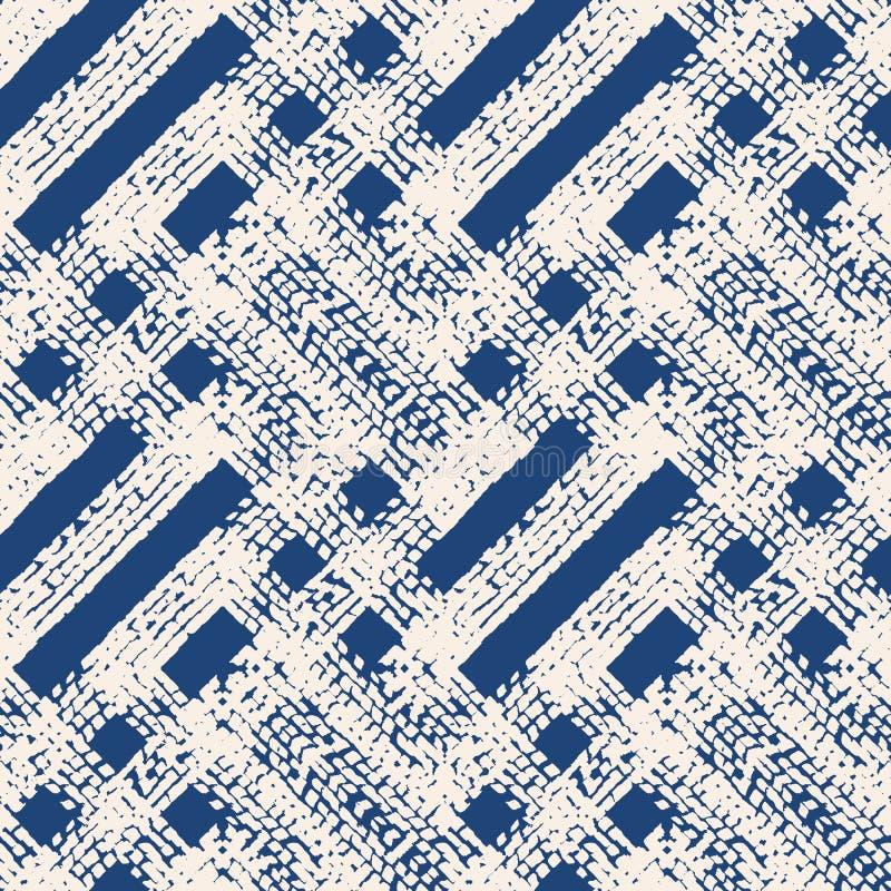 Vector sin fin de la textura de la acuarela libre illustration