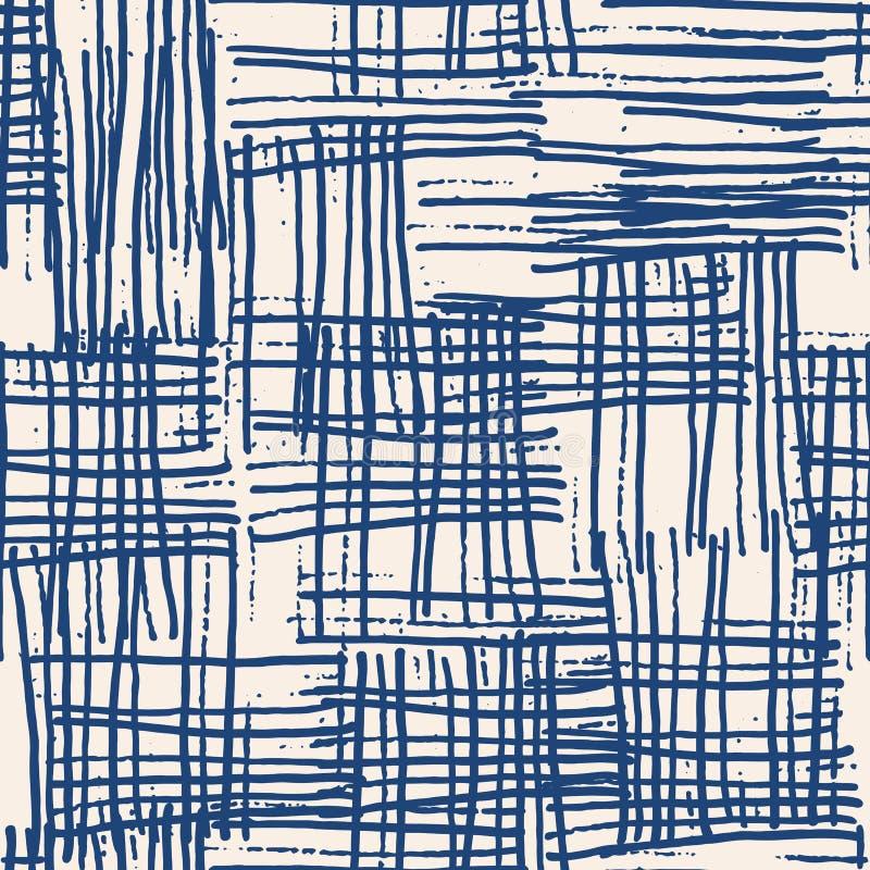 Vector sin fin de la textura de la acuarela ilustración del vector