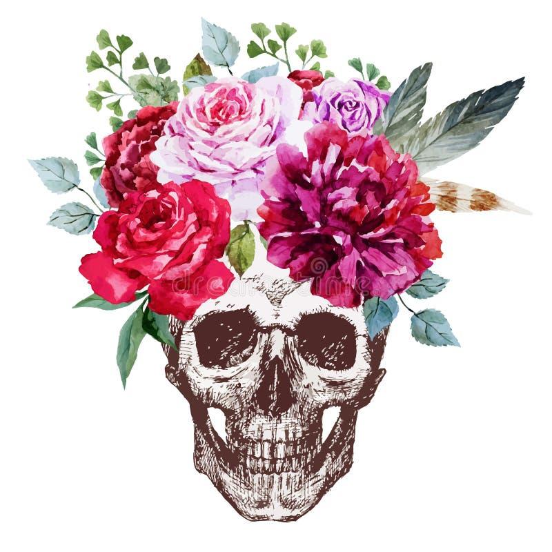 Vector Skull vector illustration
