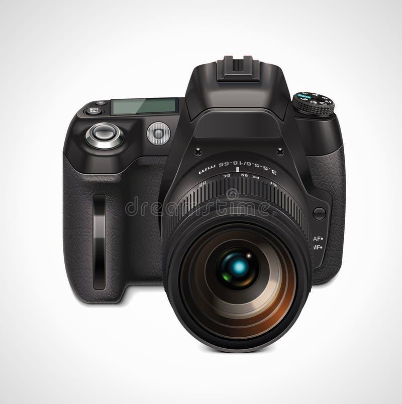 Download Vector SLR camera XXL icon stock vector. Illustration of leisure - 19691329