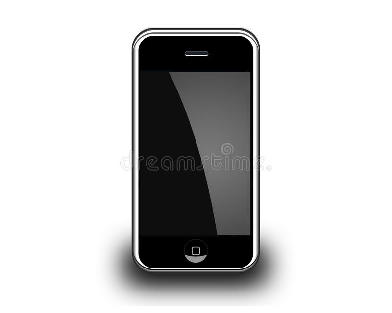 Vector smart phone royalty free illustration