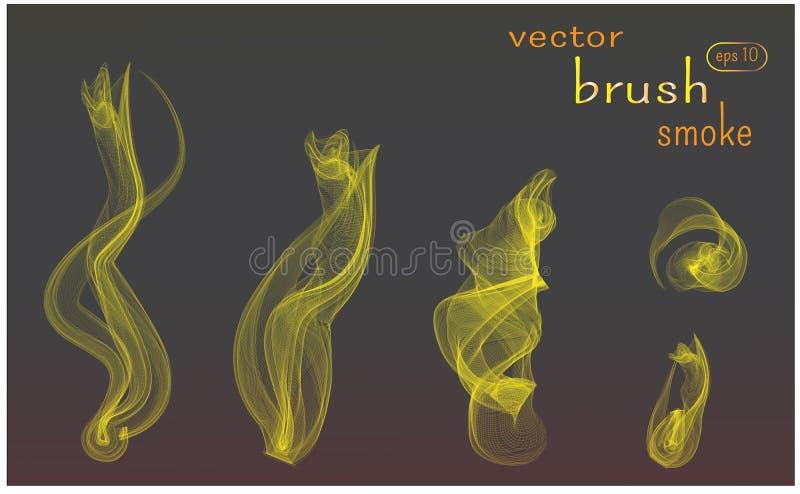 Brush Smoke Stock Illustrations – 5,115 Brush Smoke Stock