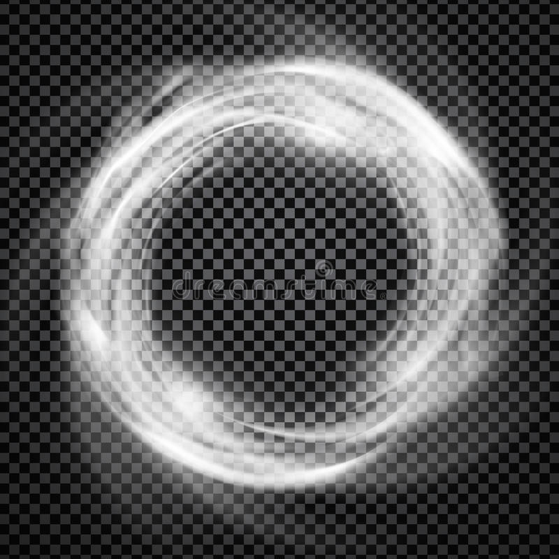 Free Vector Smoke Ring Light Effect With Trasparency Royalty Free Stock Photo - 86571595