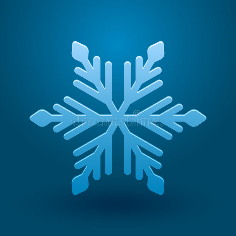 Download Vector Snowflake. Stock Images - Image: 33480484