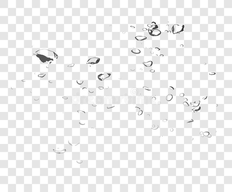 Vector Soap Water Bubbles. royalty free stock images