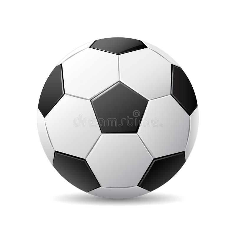 Vector soccer ball vector illustration