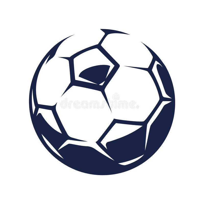 Vector Soccer Ball stock illustration