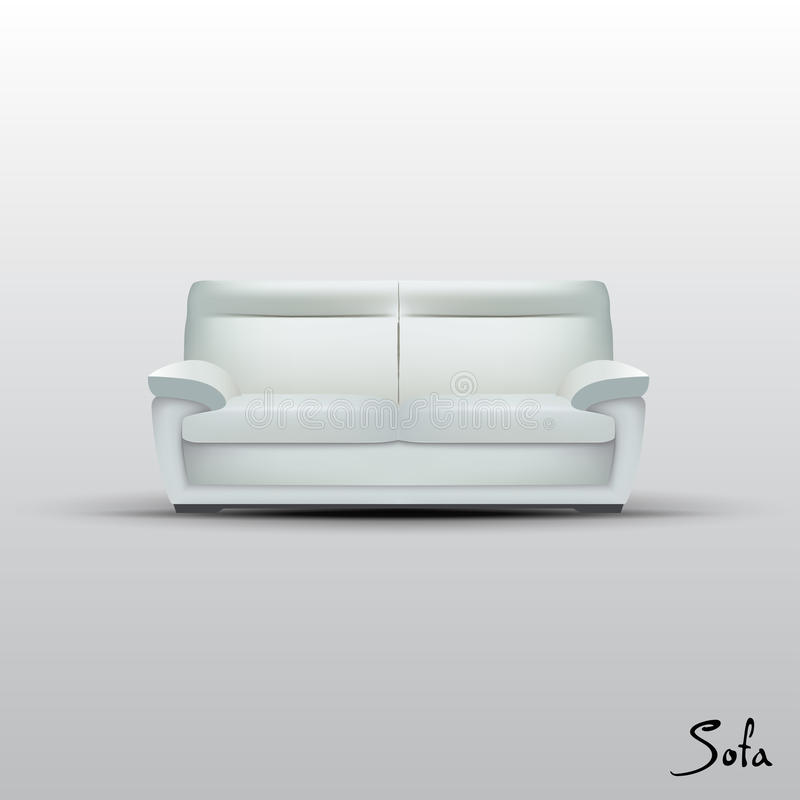 Free Vector Sofa Royalty Free Stock Photography - 25664647